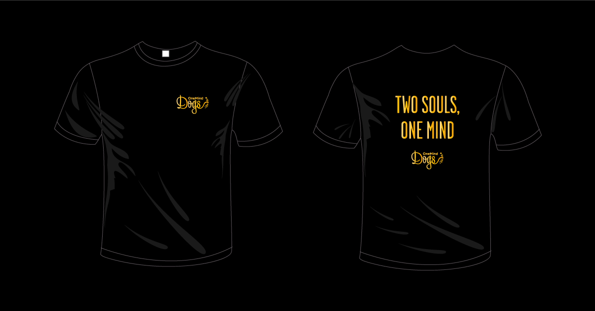 Two Souls, One Mind T-shirts